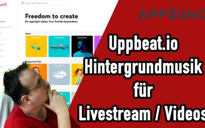 geniale hintergrundmusik videos social media posts Appsumo Aktion Uppbeat 400x250 - Blog