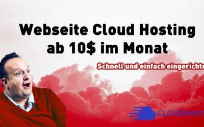 cloudways webseite cloud hosting ab 10 dollar im monat 400x250 - Blog