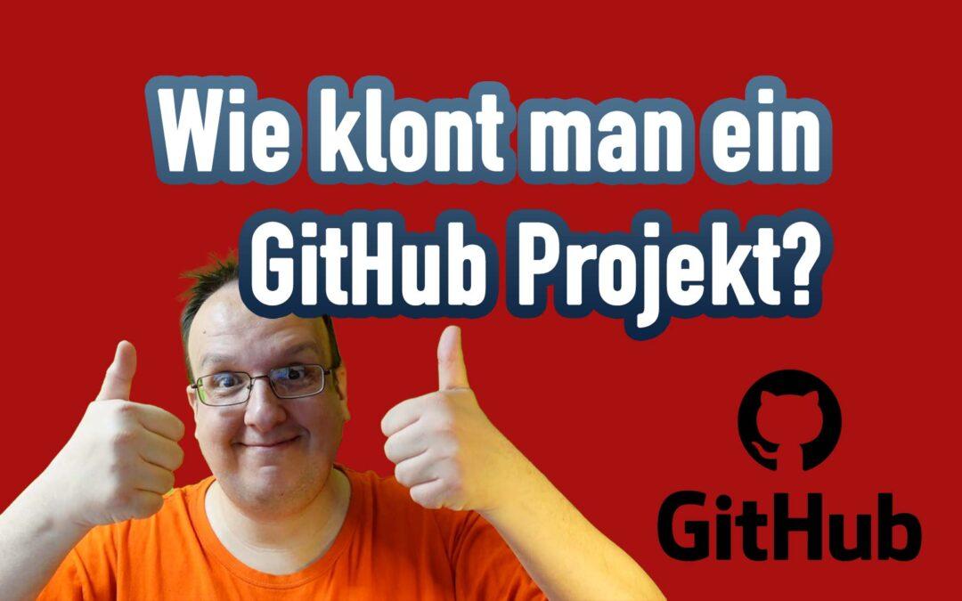 Wie klont man ein GitHub Projekt auf sein Raspberry Pi / Computer über Terminal