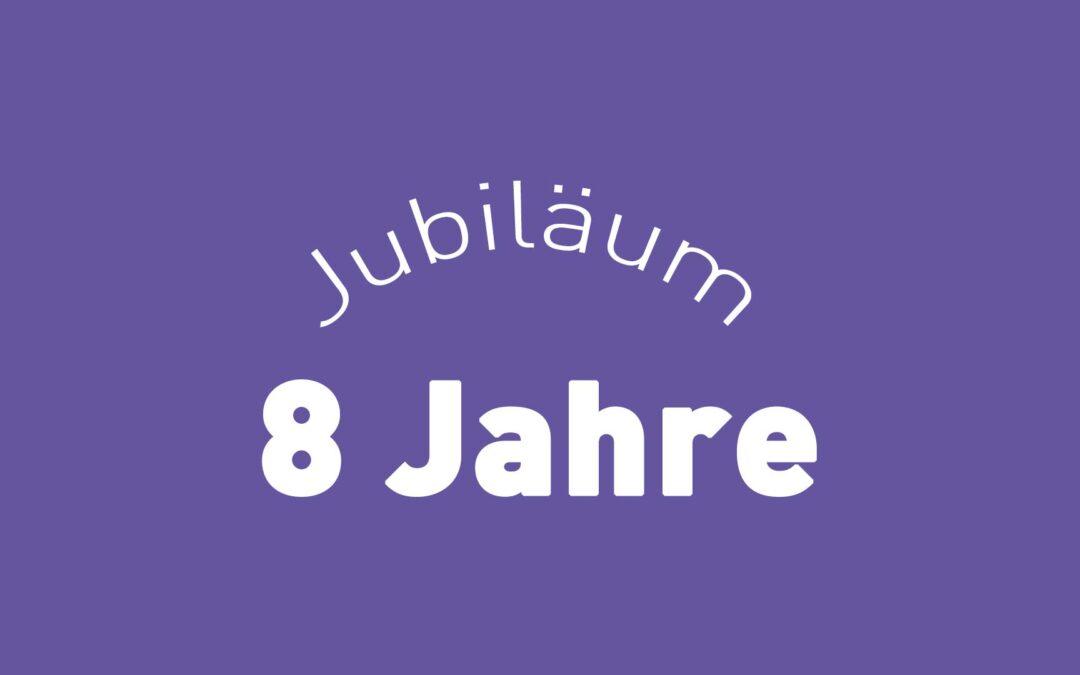 Happy Birthday Chefblogger – 8 Jahre Jubiläum