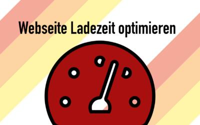webseite ladezeit optimieren 400x250 - Blog