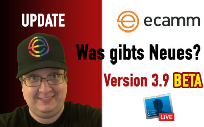 Ecamm Live 3.9 BETA 2 – Update – Features